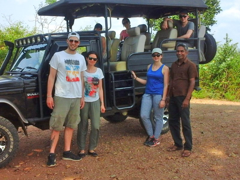 Private jeep Safari in Sri Lanka
